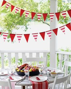 """See the """"Flag Streamers"""" in our Kids' Party Decorations gallery"""