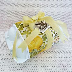 Decorated egg box