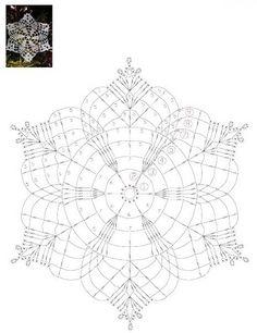 How To Knit: Crochet snowflakes, free crochet pattern Crochet Snowflake Pattern, Crochet Stars, Crochet Motifs, Crochet Snowflakes, Crochet Diagram, Doily Patterns, Thread Crochet, Crochet Granny, Irish Crochet