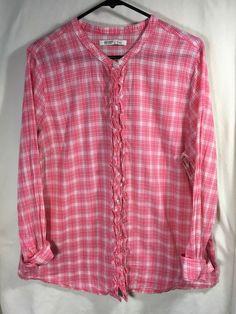 89d3f6cc559 Old Navy Womens Shirt Size XL Plaid Summer Picnic Shirt #fashion #clothing # shoes