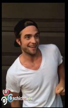 El Ice Bucket Challenge De Robert Pattinson#Video