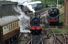 English Steam Train