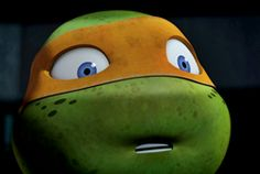 I'm Michelangelo, the Mikeynator! but you guys can call me Mikey. Ninja Turtles Art, Teenage Mutant Ninja Turtles, Tmnt Mikey, Tmnt 2012, Michelangelo, Funny Jokes, Drama, Fandoms, Ninja Turtles