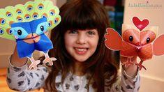 Printable Woodland Animals Cootie Catchers – Origamis for kids Forest Animals, Woodland Animals, Letter Size Paper, Cute Little Animals, Classroom Activities, Origami, Catcher, Squirrel, Children