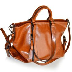 Simple Solid Color and Buckle Design Women's Tote Bag