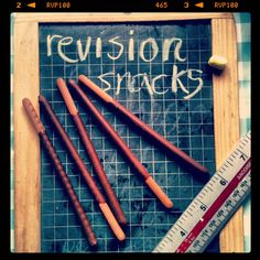 Exam time revision snacks