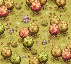 'Autumn forest 2' by beetleking (via pixeljoint)