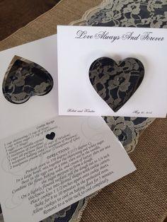 Kendra and Robert- cookie cutter wedding favors #BlackHillsReceptions