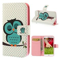 Lg G2 Mini Case,dulcii Sleeping Owl Magnetic Buckle Wallet Case Credit Id Card Slots Pu Leather Cover http://www.smartphonebug.com/accessories/20-best-coolest-lg-g2-mini-lte-cases-and-covers/