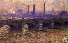 Puente de Waterloo, tiempo gris
