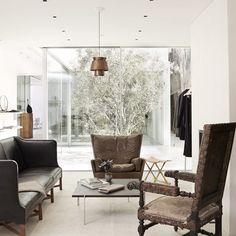 #therow #la ##interiordesign #architecture #modern #wood #chair #modernfurniture #vintage #whiteinterior #neutralinterior #design #apartment #room #spaces #moderninteriordesign #inspiration