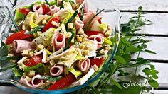 Ewa w kuchni: Szybka sałatka z sałaty rzymskiej