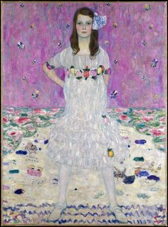 Gustav klimt - Mada Primavesi, 1912. Gustav Klimt. This picture does this painting no justice seeing it at the Met.