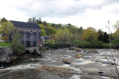 Grist Mill Park in Yarmouth Maine - I used to walk here when I was pregnant with you.  We brought you back here.....