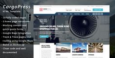 CargoPress – the ultimate HTML template for your cargo, freight or logistics company    Introducing CargoPress, the best premium HTML template for transportation, trucking freight, and logistics busi...