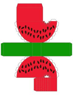 Printable Watermelon Box ... free to use :)