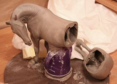 Hanblechia, Model Horse Sculpture, Painting and Custom Glazed Chinas by Paige Easley Patty