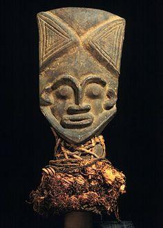 Africa, Cameroon, Eastern Grassfields, Tikar peoples, Bankim peoples  Male maskWood and raffia