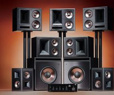 Home Theater Sound System, Home Theater Setup, Best Home Theater, Home Theater Seating, Dream Theater, Theater Rooms, Movie Theater, Wireless Home Theater, Home Theater Speakers