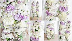 flower garlands, photo props