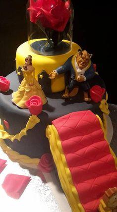 gâteau la belle et la bête (Blog Zôdio)