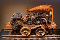 Davis Motor Mine Cart. (par johndecember)