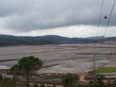 Barragem Germano é monitorada após rompimento das barragens do Fundão e Santarém em Mariana, na Região Central de Minas. (Foto: Raquel Freitas/G1)