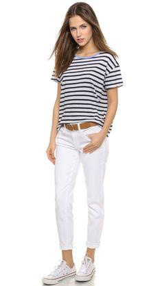 SUNDRY Jersey Stripes Tee