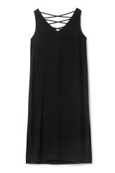 <p>The Audra Dress is woven in viscose. Ithas a tight fit, high…