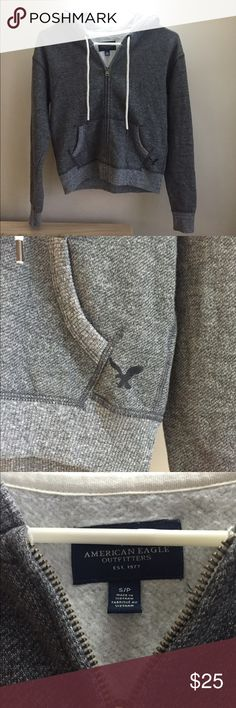 AE hoodie This hoodie is in like new condition! Not a stain, hole, piling or smells. Super soft and cozy on the inside. Great sized hood to keep you extra warm and cozy feeling this winter😊❄️ two pockets. American Eagle Outfitters Jackets & Coats