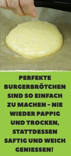 Perfekte Burgerbrötchen sind so einfach zu machen – nie wieder pappig und trocken, stattdessen saftig und weich genießen!