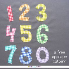 Ever since I released this free alphabet applique pattern, I've been getting requests for some matching numbers. Of course! It makes total sense that you'd want to add birth dates and other numbers to your quilts! It's finally here.  These patterns are just the templates. Watch this video for complete instructions for how to …