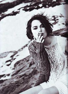 Keira Knightley Smoke