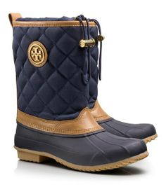 Denai Quilted Rain Bootie | Too bad it rarely rains here...