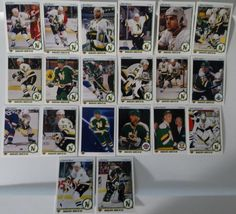 1990-91 Upper Deck UD Minnesota North Stars Team Set of 20 Hockey Cards #MinnesotaNorthStars