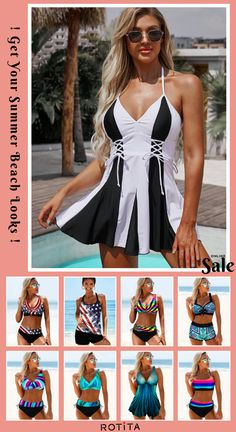 With plenty of sunny days to go, I wanted to share my favorite swimwear trends Outfits For Teens, Cool Outfits, Bob Haircut For Fine Hair, Bikini For Women, Beachwear Fashion, Swimsuits, Swimwear, Sunny Days, Bathing Suits