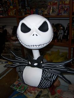 Jack Skellington The Nightmare Before Christmas bust - awesome!