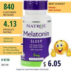 Natrol #Natrol #SleepFormulas #Melatonin