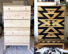 IKEA dresser makeover, dresser makeover, do it yourself dresser makeover, furnit. - Ikea DIY - The best IKEA hacks all in one place Ikea Furniture Makeover, Painting Ikea Furniture, Repurposed Furniture, Home Decor Furniture, Furniture Refinishing, Bedroom Furniture, Luxury Furniture, Ikea Makeover, Dresser Makeovers