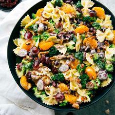 Broccoli and Grape Pasta Salad