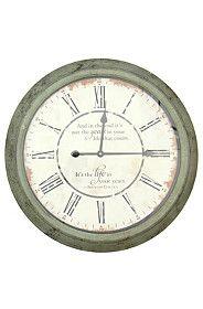 LINCON METAL CLOCK Home Online Shopping, Mr Price Home, Metal Clock, Wood Grain, Home Kitchens, Clocks, Home Decor, Spring