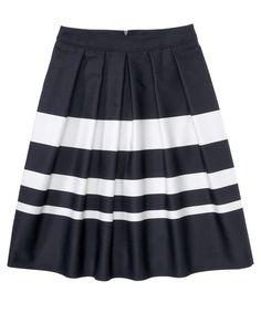 Hugo Boss 'Marela' striped skirt