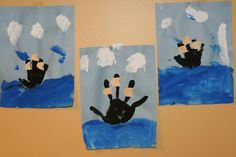 boat crafts for preschoolers | Columbus Day and Thanksgiving Craft for Preschoolers