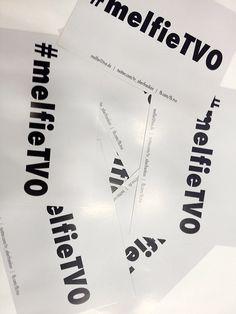 Unsere beliebten Melfie-Flyer für das Messe-Selfie #melfieTVO