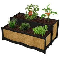 Pots de fleurs en tissu pour plantes aromatiques jardin pinterest fils pots et d coration - Leroy merlin jardin en carre nantes ...