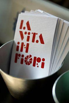 La vita in fiori (Identity, Packaging) by Lo Siento Studio, Barcelona