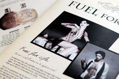 Bruchure design for DIESEL's Fuel for Life #Design #Graphic #Fragrance #Diesel #Norgesdesign