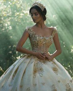 Royal Gold Bridal Ball Gowns (1/?): Parukeri Estetike Merita, BC Linda, Vogue Sposa, Sallon Frida, Lusi Wedding