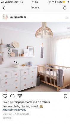 Ikea Baby Room, Ikea Crib, Baby Room Boy, Baby Bedroom, Baby Room Decor, Nursery Room, Girl Room, Nursery Decor, Ikea Baby Nursery