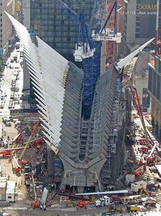 Oculus WTC Transportation Hub